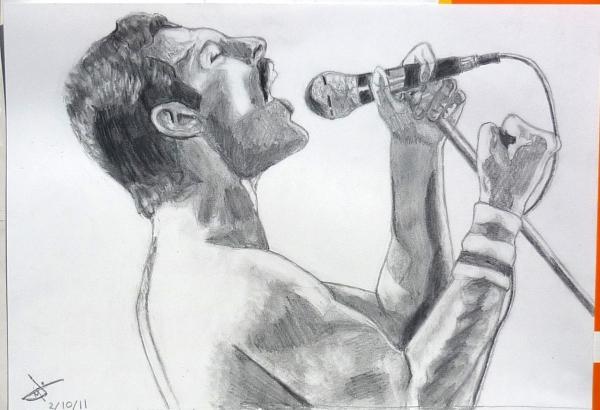 Freddie Mercury by PokeyArt